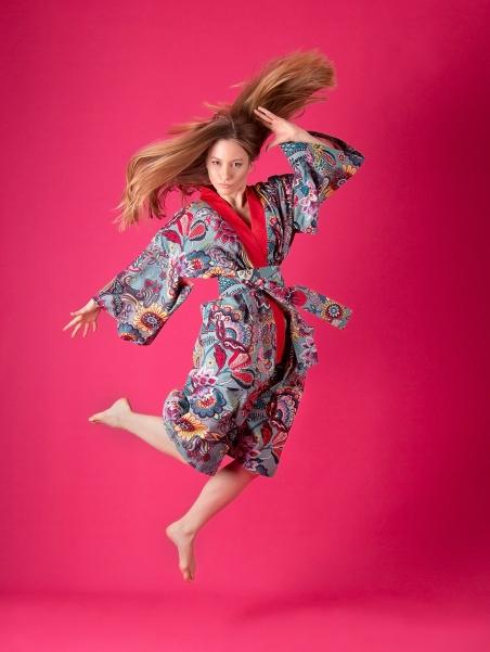 Kikimono - Tama Red - kimono