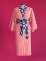 Kikimono - Tama Paski - kimono bawełniane długie